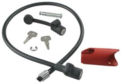 Yakima DeadLock Hitch Lock and Integrated Locking Cable - Same Key System (SKS)