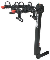 "Yakima DoubleDown 4 Bike Hitch Mounted Folding Rack for 1-1/4"" & 2"""