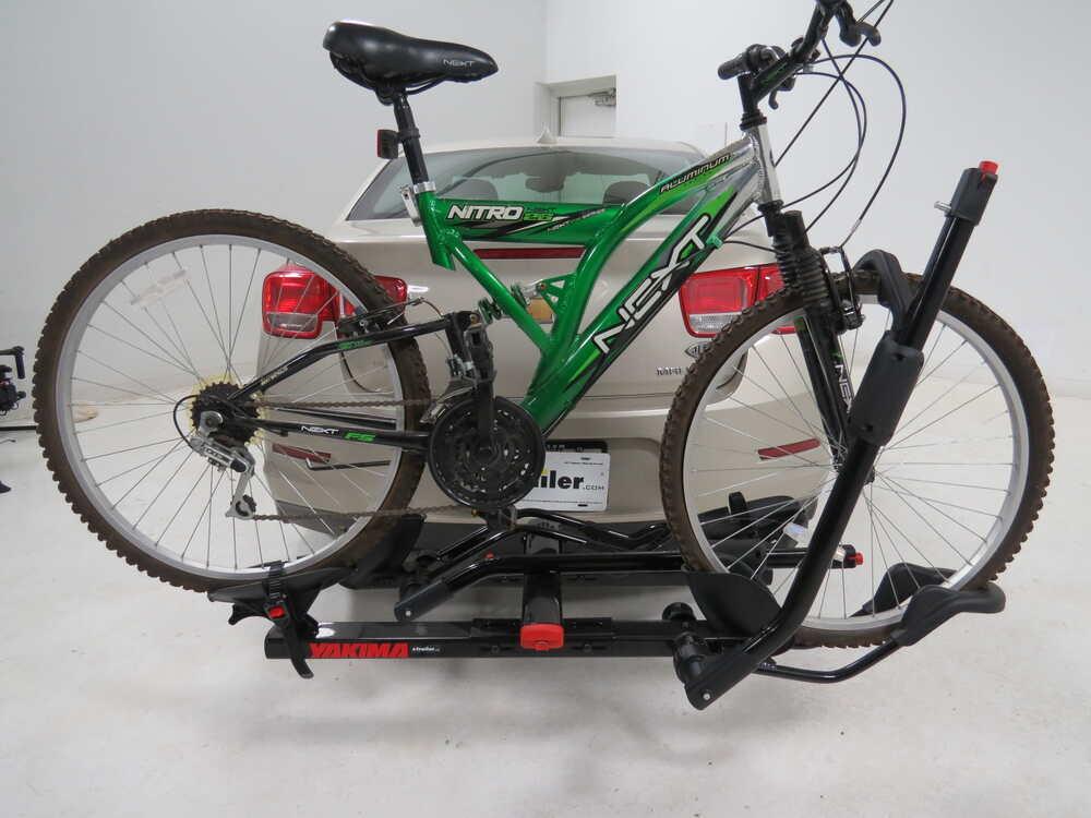 Yakima hookup bike rack