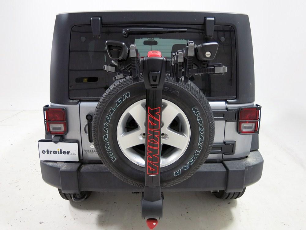 2010 jeep wrangler unlimited yakima fulltilt 4 bike rack. Black Bedroom Furniture Sets. Home Design Ideas