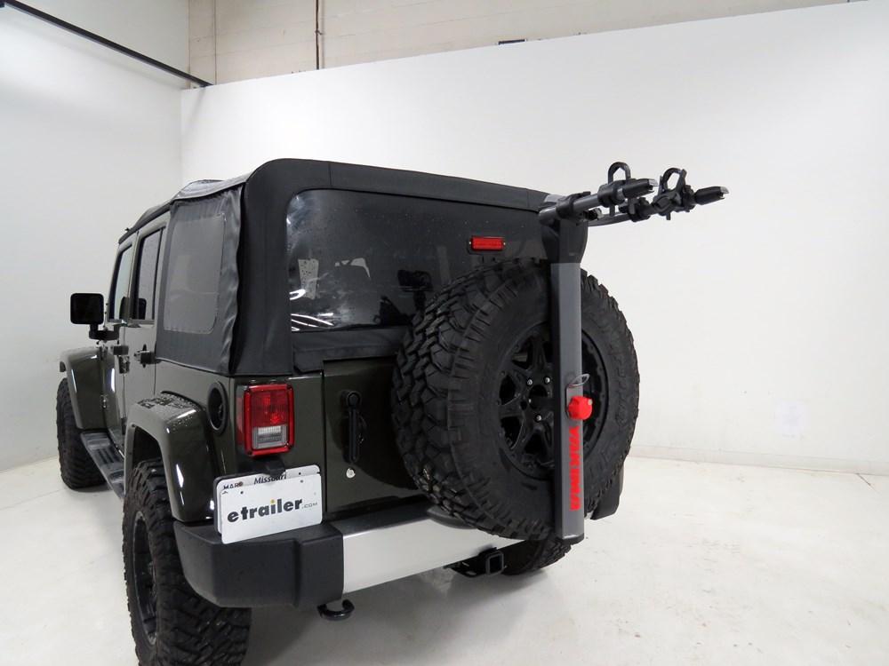Jeep Wrangler Bike Rack >> Yakima SpareRide 2 Bike Rack - Spare Tire Mount - Folding ...