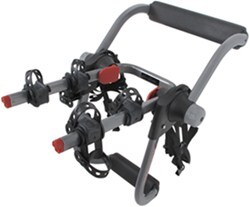 Yakima KingJoe Pro 2 Bike Rack with Glass Hatch Hook Adapter - Folding Arms - Trunk Mount