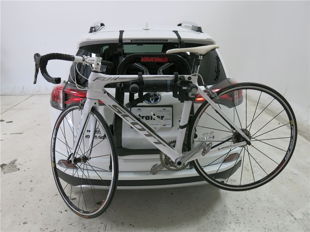1998 Rav4 Custom >> Toyota Rav4 Yakima FullBack 2 Bike Rack - Trunk Mount - Adjustable Arms