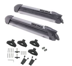 Yakima Big PowderHound Roof-Mounted, Locking Ski and Snowboard Carrier - 6 Skis/4 Boards