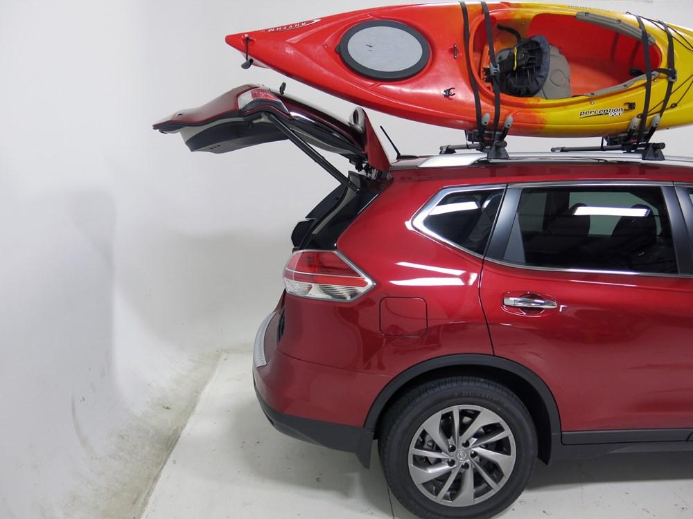 2016 honda cr v yakima hullraiser j style roof mounted kayak carrier. Black Bedroom Furniture Sets. Home Design Ideas