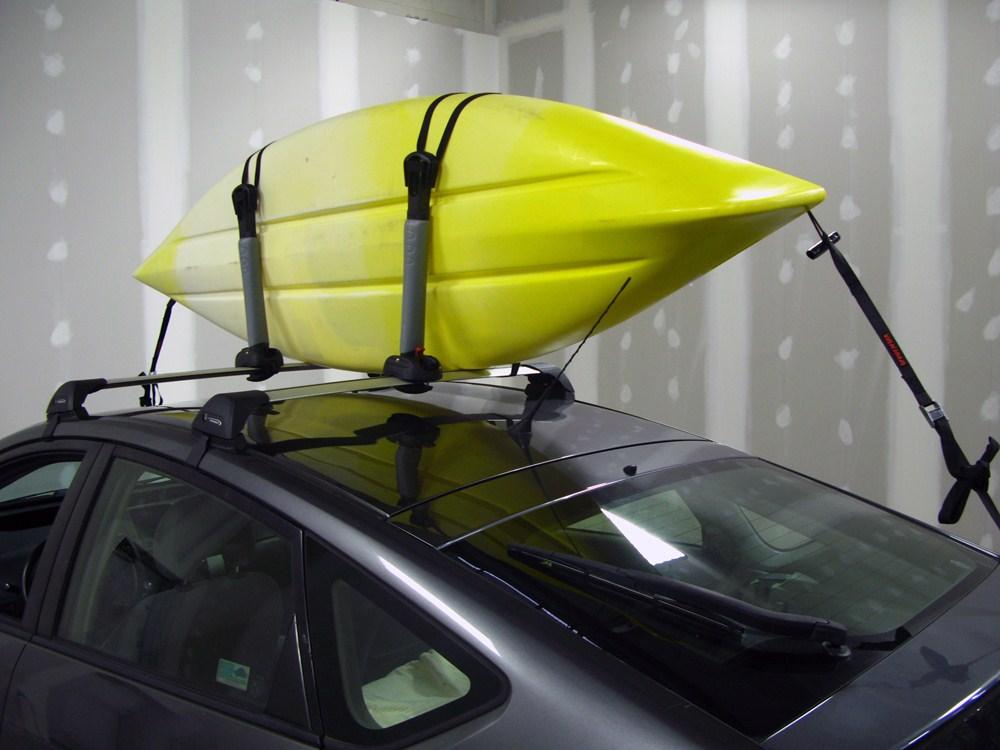 Subaru Outback Wagon Yakima Bigstack Roof Mounted 2 Kayak