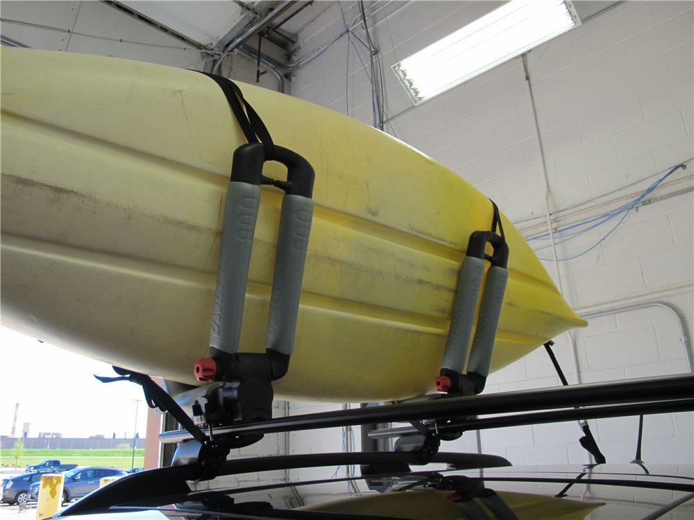 Yakima BowDown Folding J-Style Kayak Carrier for Roof ...