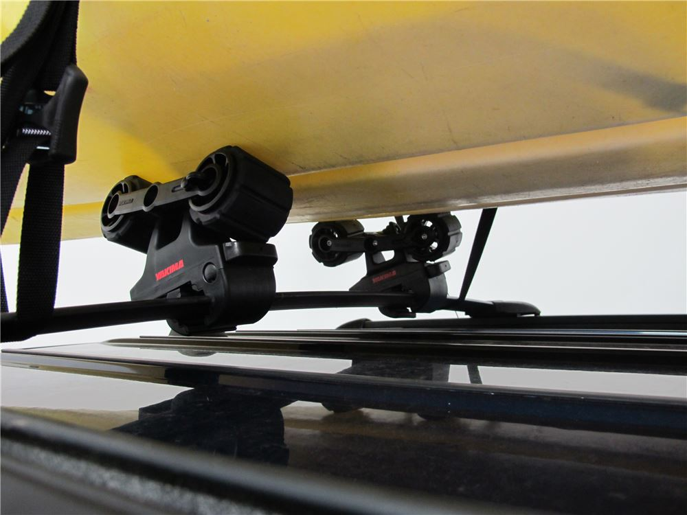 Kayak Roof Carrier >> Yakima HandRoll Kayak Carrier with Tie-Downs - Roller ...