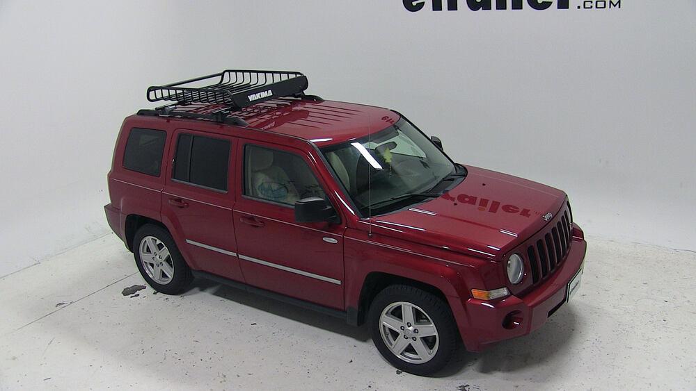 2010 jeep patriot yakima loadwarrior roof rack cargo basket. Black Bedroom Furniture Sets. Home Design Ideas