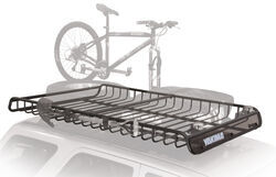 "Yakima MegaWarrior Extra Large Roof Rack Cargo Basket - Steel - 74"" Long x 48"" Wide"