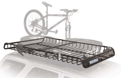 Yakima MegaWarrior Extra Large Roof Rack Cargo Basket And Extension Yakima  Roof Basket Y07080 82