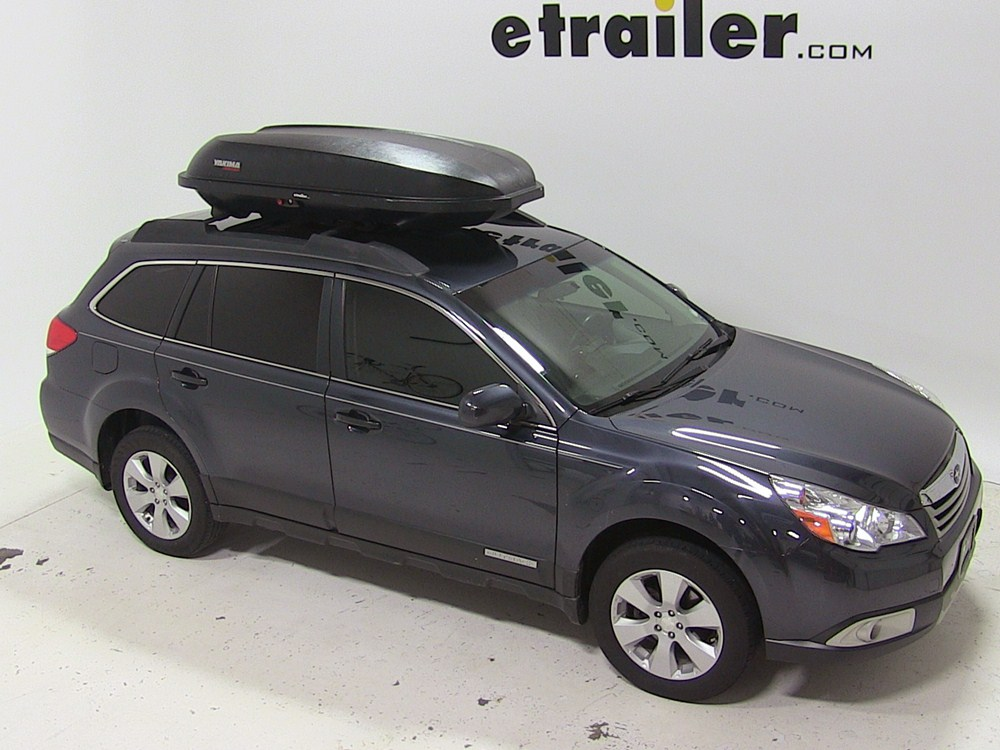 2011 subaru outback wagon yakima rocketbox pro 14 rooftop cargo box 14 cu ft black. Black Bedroom Furniture Sets. Home Design Ideas