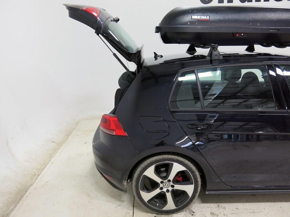 Volkswagen GTI Yakima RocketBox Pro 11 Rooftop Cargo Box - 11 cu ft - Black