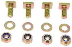 Replacement T-Bolt with Nut for Yakima Rack and Roll Trailers - Qty 4