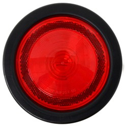 "Replacement Light with Grommet for Yakima Rack and Roll Trailers - 4"" - Red"