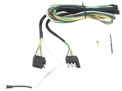 Replacement Tongue Wiring Harness for Yakima Rack and Roll Trailers