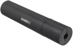 "Yates Side Guide Roller for Boat Trailers - Heavy-Duty Rubber - 12"" Long - 5/8"" Shaft"