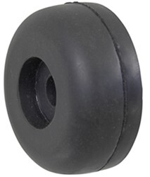 "Yates Endcap for Boat Trailer Rollers - Heavy-Duty Rubber - 1/2"" Shaft - Qty 1"