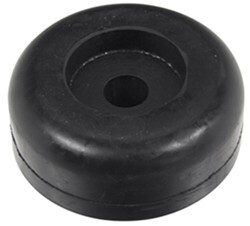 "Yates Endcap for Boat Trailer Rollers - Heavy-Duty Rubber - 5/8"" Shaft - Qty 1"