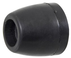 "Yates Endcap for Side Guide Rollers - Heavy-Duty Rubber - 1/2"" Shaft - Qty 1"