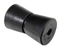 "Black Keel Rubber Spool roller 4/""- 5//8/"" center hole Boat trailer Marine 1"