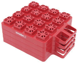 "Stackers Leveling Blocks for Trailers and RVs - 1-3/8"" x 8-1/8"" - Qty 4"