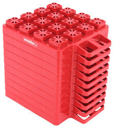 "Stackers Leveling Blocks for Trailers and RVs - 4"" x 8-3/4"" - Qty 10"