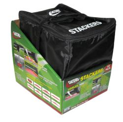 "Stackers Leveling Blocks w/ Bag for Trailers and RVs - 4"" x 8-3/4"" - Qty 10"