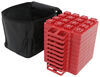 "Stackers Leveling Blocks w/ Bag for Trailers and RVs - 1-3/8"" x 8-1/8"" - Qty 10"