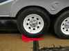 Wheel Chock for Stackers Leveling Blocks - Polyethylene - Qty 1 Plastic A10-0922