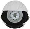"""Valterra RV Wheel Covers - 30"""" to 32"""" - White 30 Inch Tires,31 Inch Tires,32 Inch Tires A10-1202"""