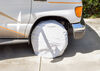 "Valterra RV Wheel Covers - 33"" to 35"" - White 33 Inch Tires,34 Inch Tires,35 Inch Tires A10-1203"