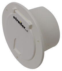 "Valterra Electrical Cable Hatch for RVs - 5-3/16"" Diameter - White"