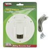 "Valterra Electrical Cable Hatch for RVs - 4-9/16"" Diameter - White White A10-2137VP"