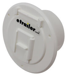 "Valterra Electrical Cable Hatch for RVs - 4-5/16"" Diameter - White"