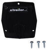 "Valterra Electrical Cable Hatch for RVs - 4-3/16"" Long x 3-7/8"" Tall - Black 3 Inch Diameter A10-2143BKVP"