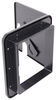"""Valterra Locking Electrical Cable Hatch for RVs - 8-1/2"""" Long x 8"""" Tall - Black 6-13/16L x 6-3/8T Inch A10-2151BKVP"""