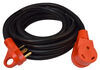Mighty Cord 25' RV Power Cord Extension w/ Handle - 120V - 30 Amp 25 Feet Long A10-3025EH