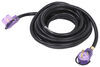 Mighty Cord 25' RV Power Cord Extension w/ Handles and Indicator Lights - 125V - 30 Amp RV Cord to Power Hookup A10-3025EHLED