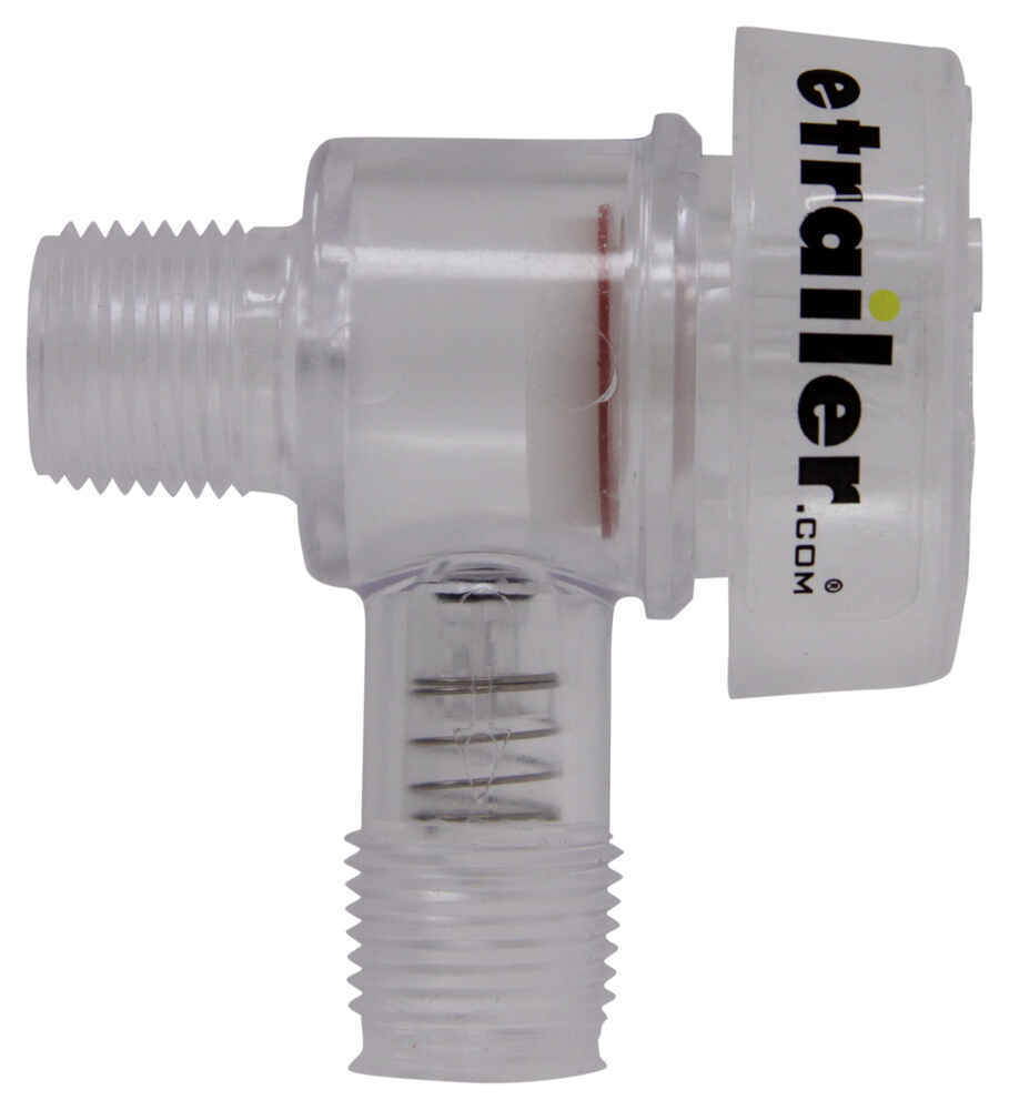 Replacement check valve vacuum breaker for factory rv tank