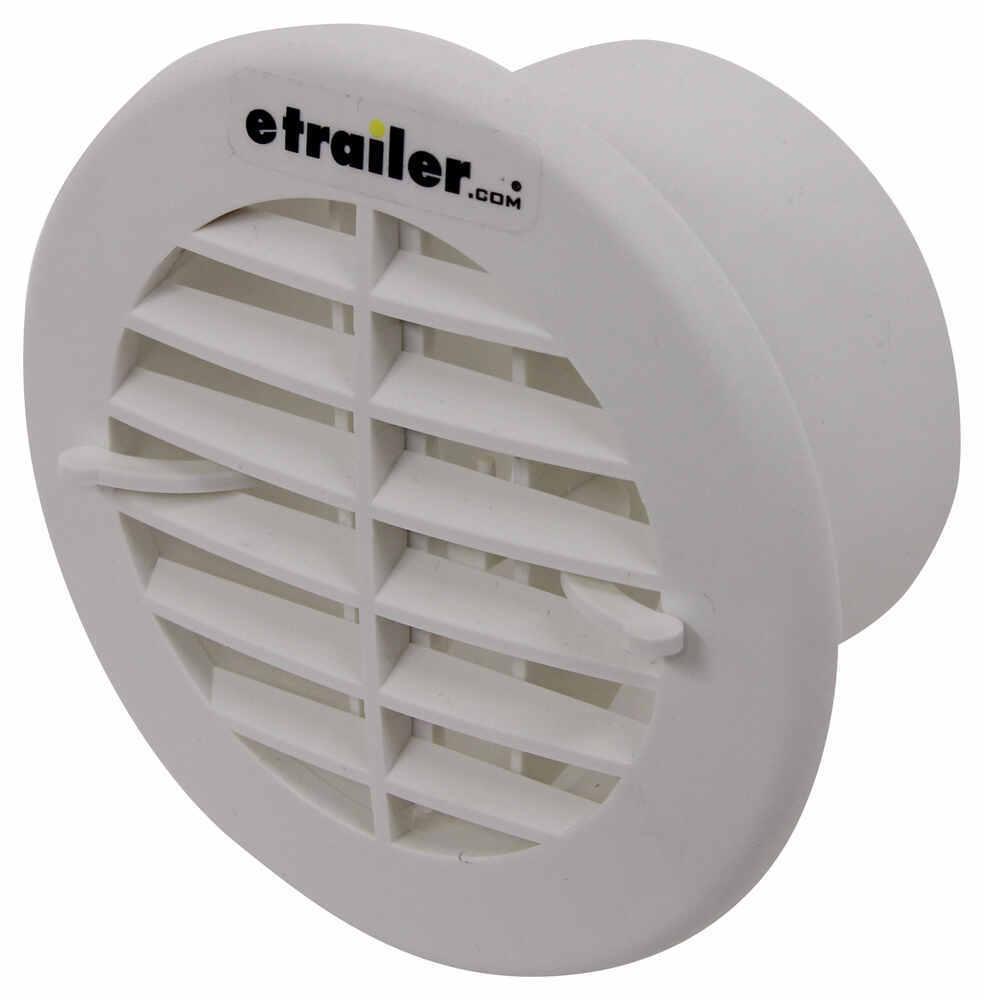 Valterra Heating And A C Vent Register Round White