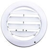 "Valterra Adjustable A/C Ceiling Register - Round - 5"" Opening - Medium White White A10-3359VP"