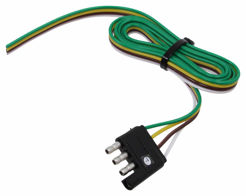 Compare Roadmaster 4 Wire Vs Mighty Cord Way Flat Trailer End Wiring Connector A10 4404vp