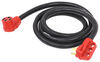 Mighty Cord 10' RV Power Cord Extension w/ Finger Grip Handle -125/250V - 50 Amp