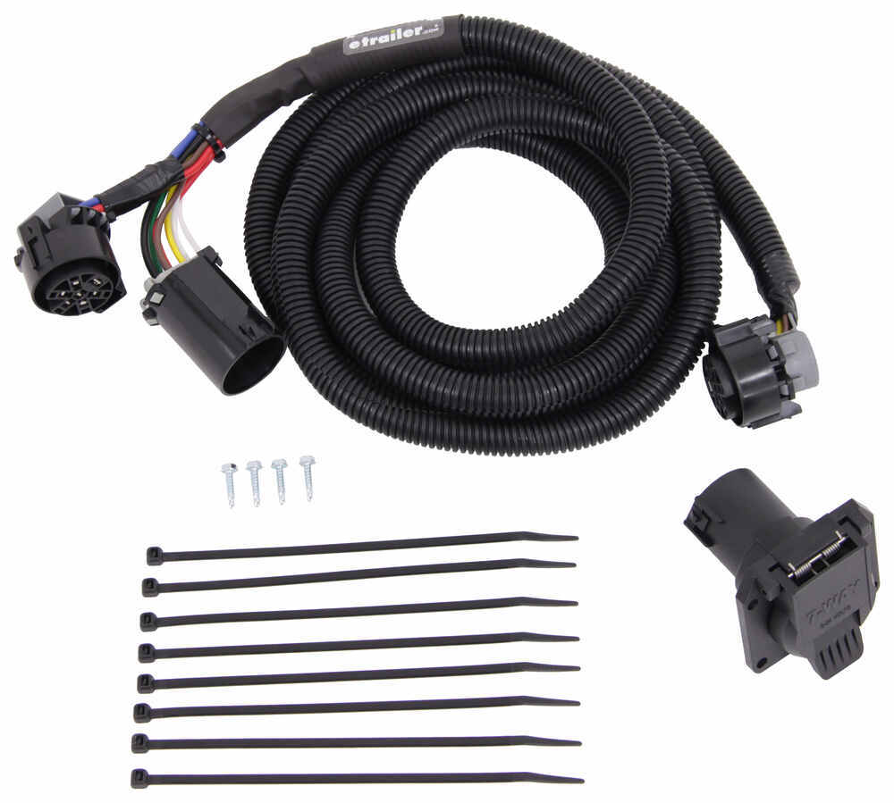 mighty cord 5th wheel gooseneck wiring harness w 7 pole. Black Bedroom Furniture Sets. Home Design Ideas
