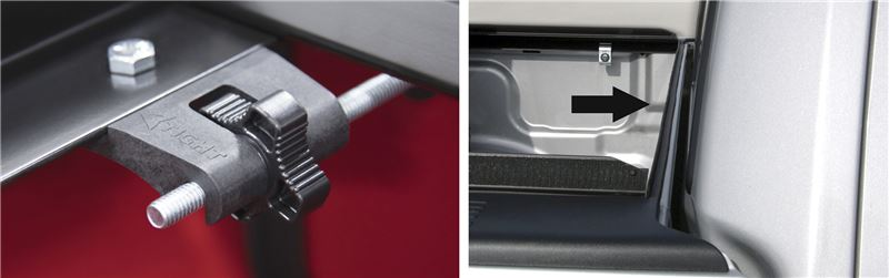 XT Dial and Seal for Access Original tonneau cover