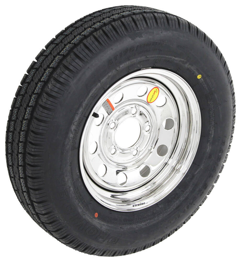 "Half Inch Trailer Revisited: Provider ST175/80R13 Radial Tire W/ 13"" Steel Mod Wheel"
