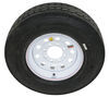 "Provider ST235/80R16 Radial Trailer Tire w/ 16"" White Mod Wheel - 8 on 6-1/2 - Load Range G 16 Inch A16R80GWM"