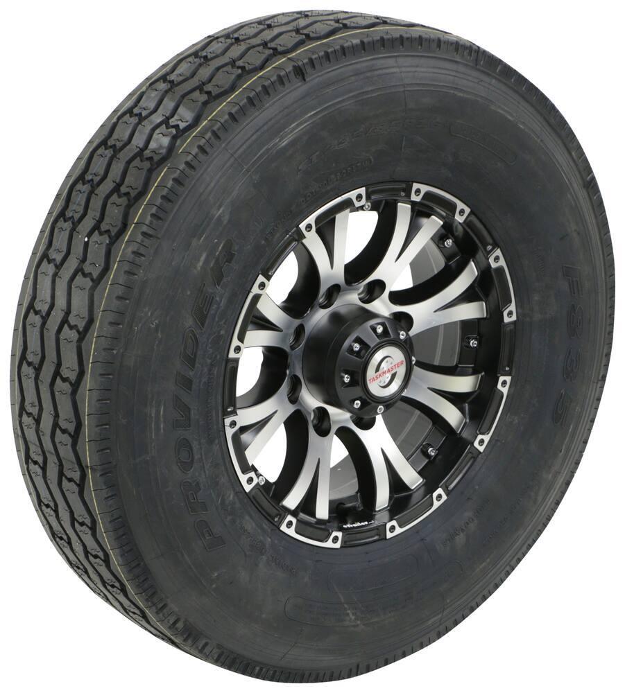 Taskmaster Trailer Tires and Wheels - A16RG8BMMFL