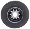 "Provider ST235/80R16 Radial Tire w 16"" Steel Mod Wheel - Offset - 8 on 6-1/2 - LR E - Black PVD Better Rust Resistance A16RTK8BMPVD5"